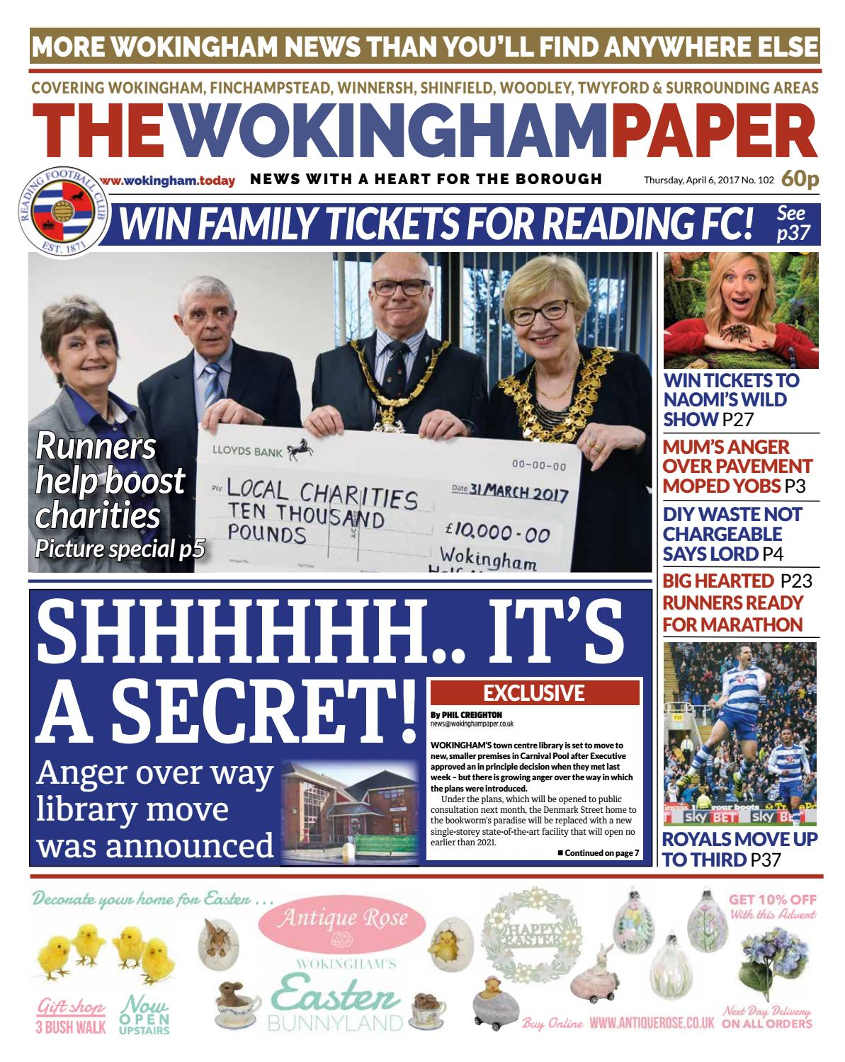 The Wokingham Paper April 6, 2017 by The Wokingham Paper - issuu