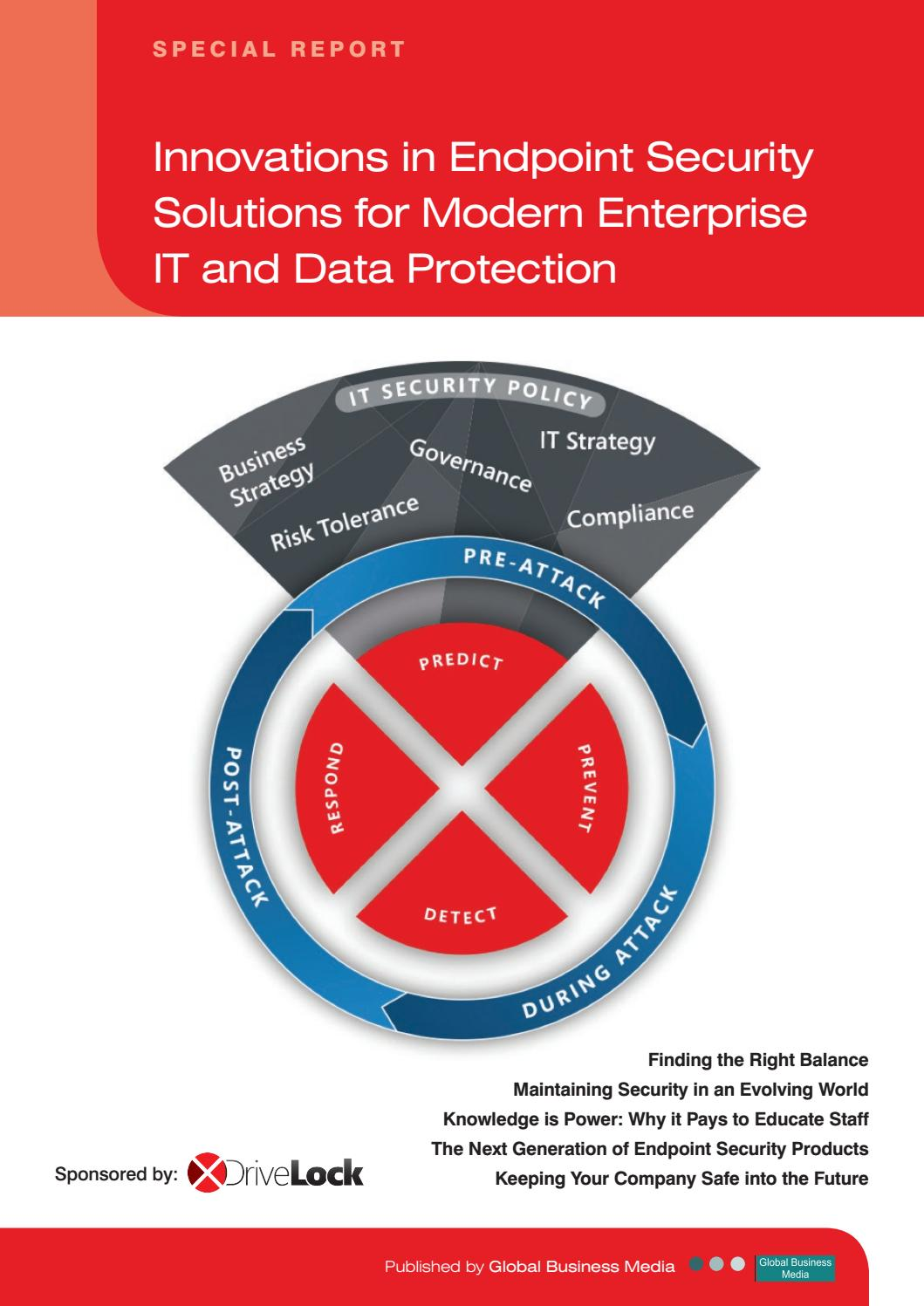 Dpoint Security Solutions For Modern Enterprise It And Data Products Protection By Global Business Media Issuu