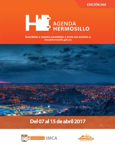 "Cover of ""Agenda Hermosillo 07 abril 2017"""