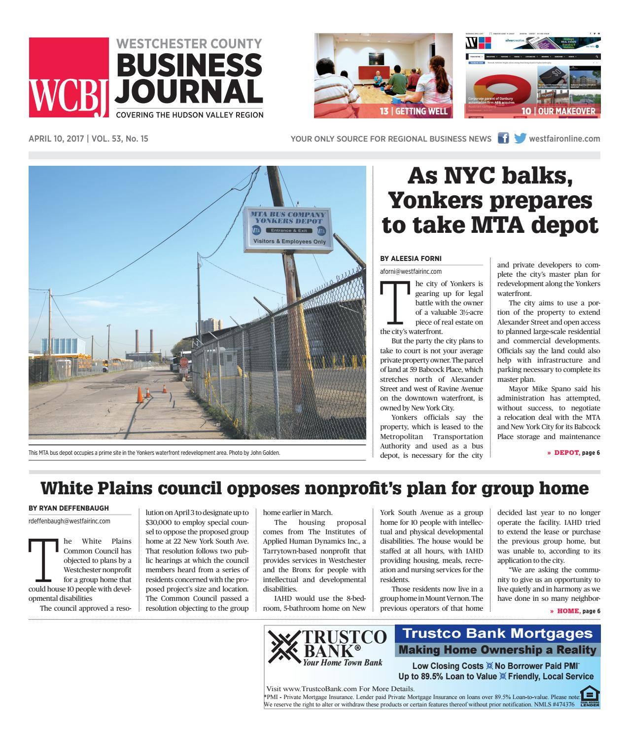 1688735c8 Westchester County Business Journal 041017 by Wag Magazine - issuu