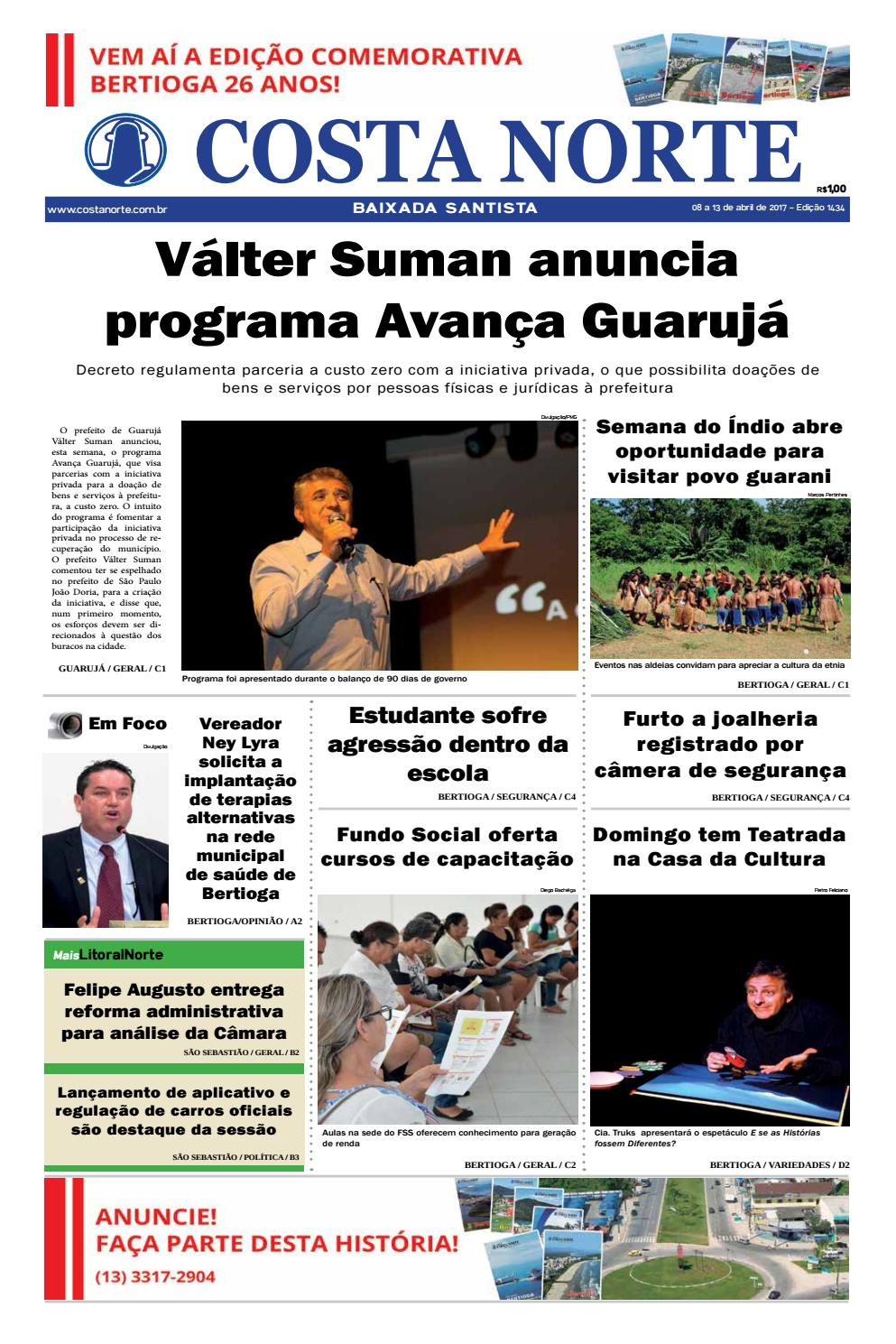 Jornal costa norte 1434 by Costa Norte - issuu 4e856de69d5df