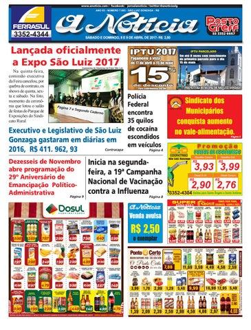 496f6fabb1947 Edição de 8 e 9 de abril de 2017 by Jornal A Notícia - issuu
