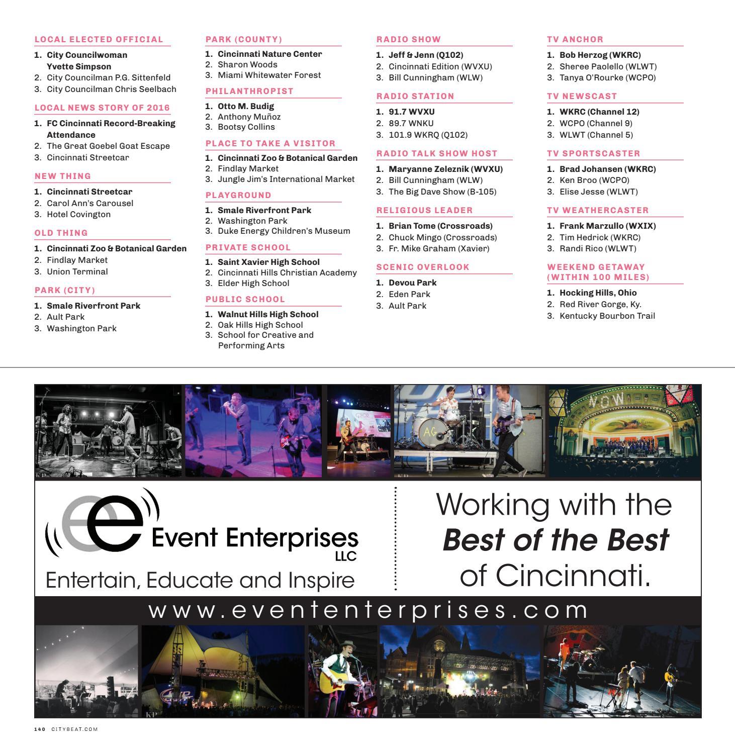 2017 Best of Cincinnati by Cincinnati CityBeat - issuu