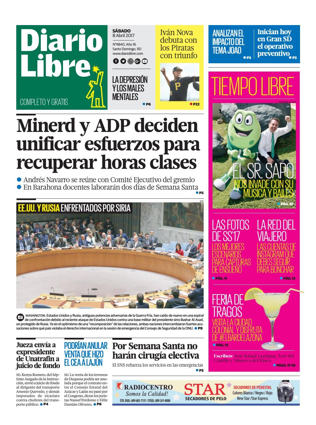 Diariolibre4840 by Grupo Diario Libre, S. A. - issuu