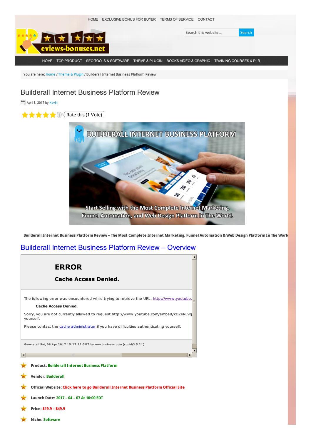 Builderall Internet Business Platform Review   Builderall