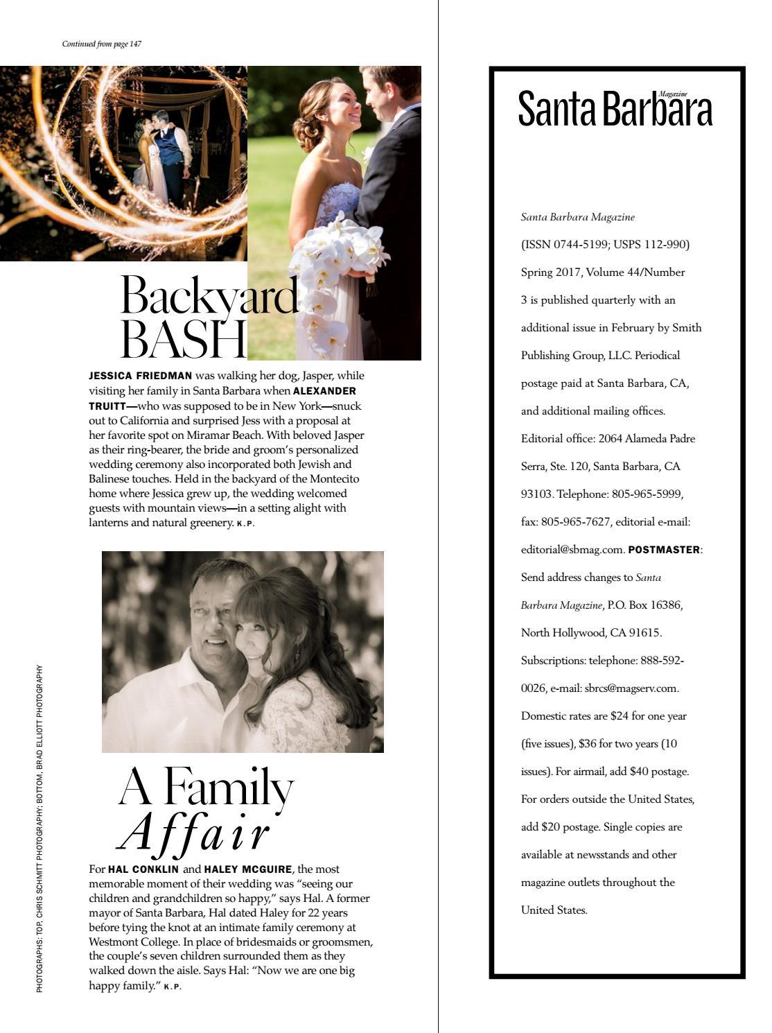 Santa Barbara Family & Life Magazine March 2017 by Santa