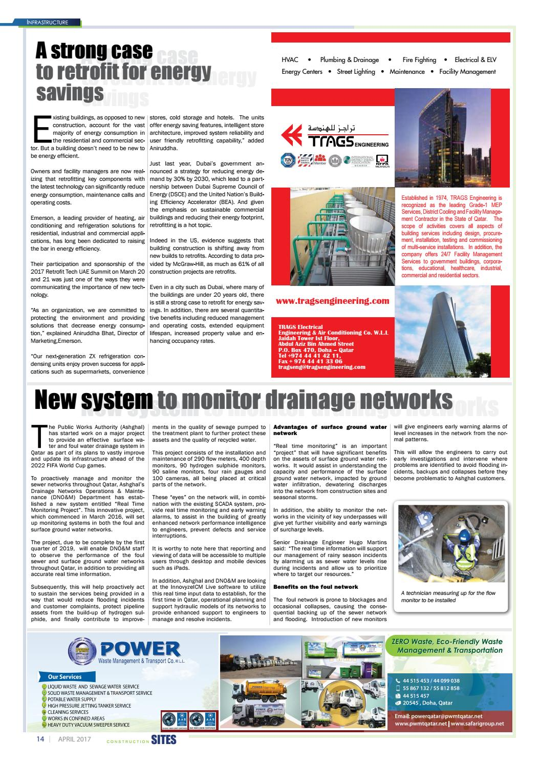 Construction Sites April Issue No 117 By Qatar Issuu