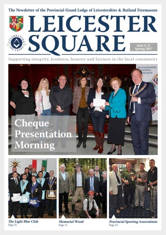 Leicester Square Issue 37 Spring 2017 By Leicestershire And Rutland