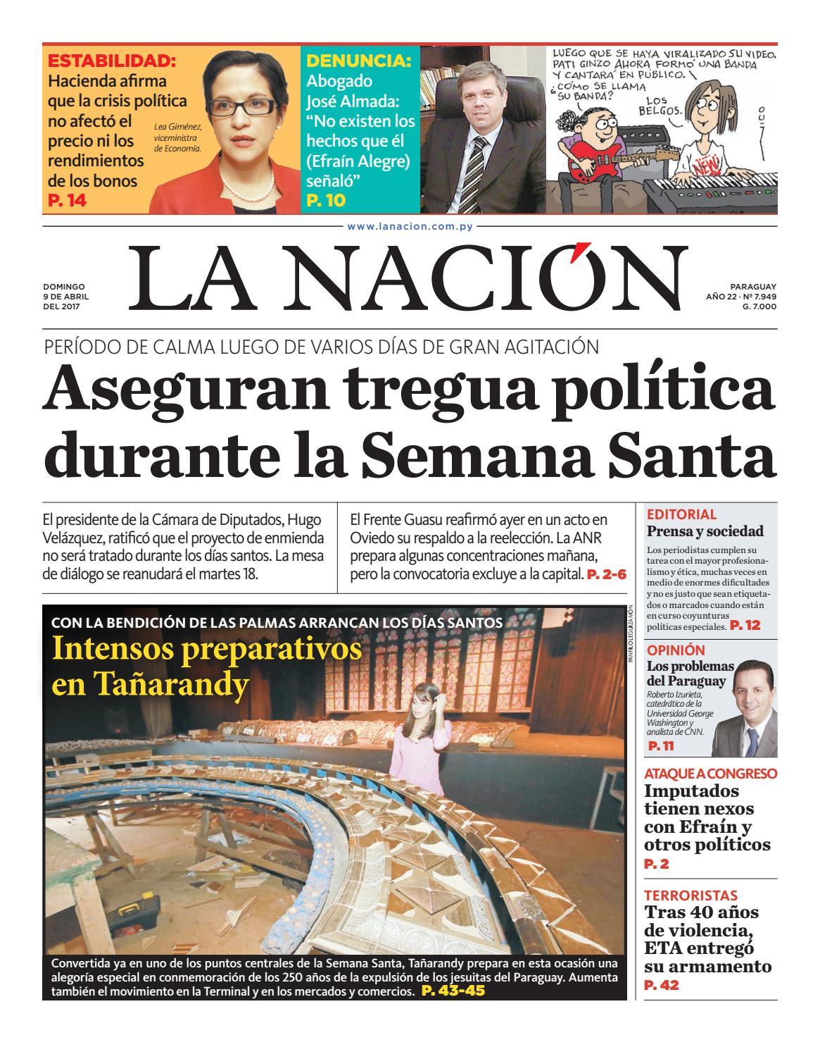 DIARIO LA NACIÓN - EDICIÓN 7.949 by La Nación - issuu
