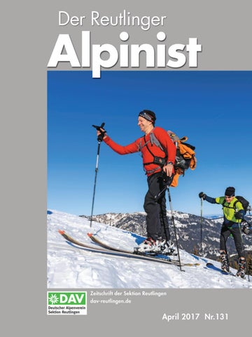 Der Reutlinger Alpinist 131 By Dav Reutlingen Issuu