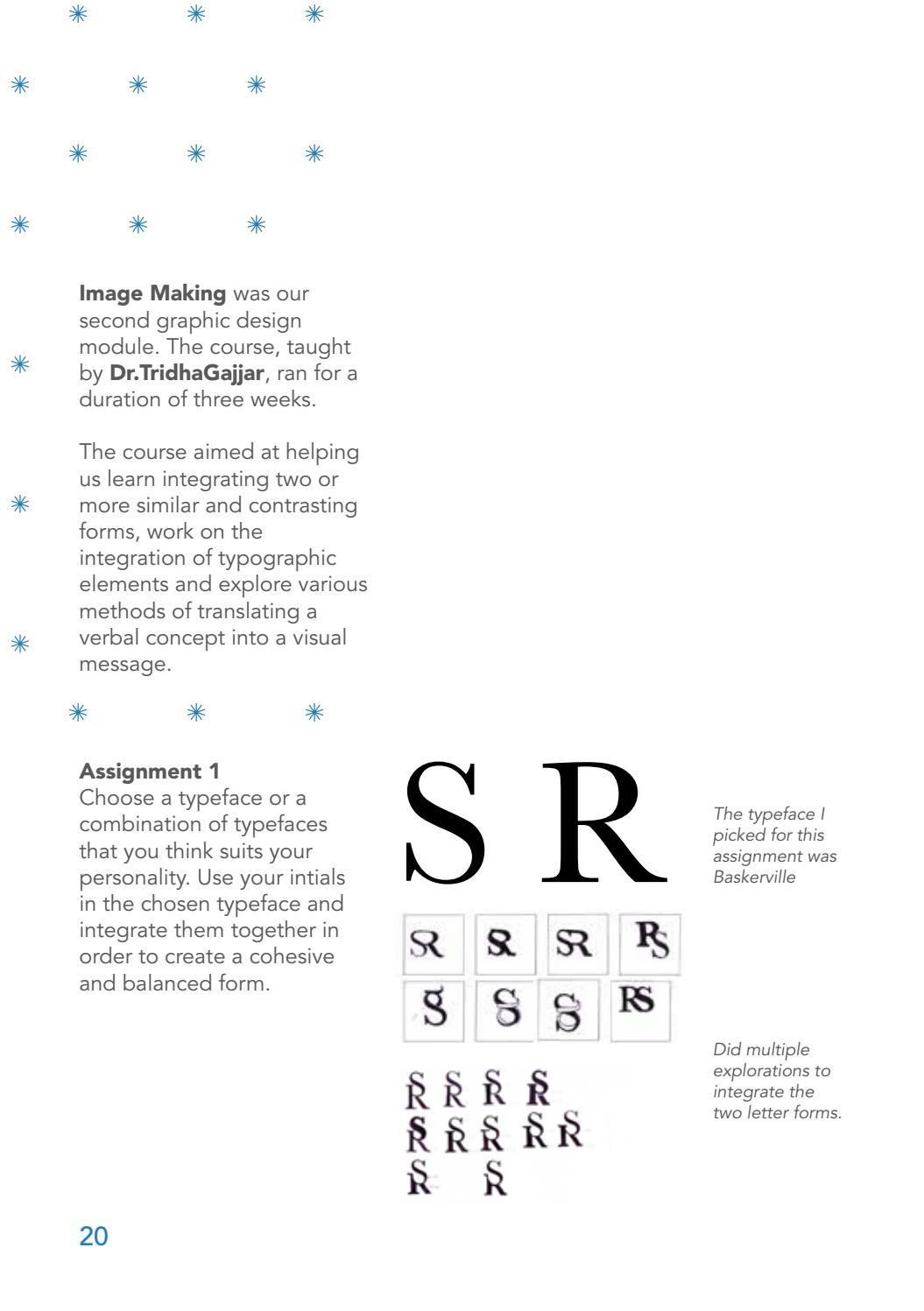 Semester Documentation Graphic Design By Sindhura Ravindra Issuu