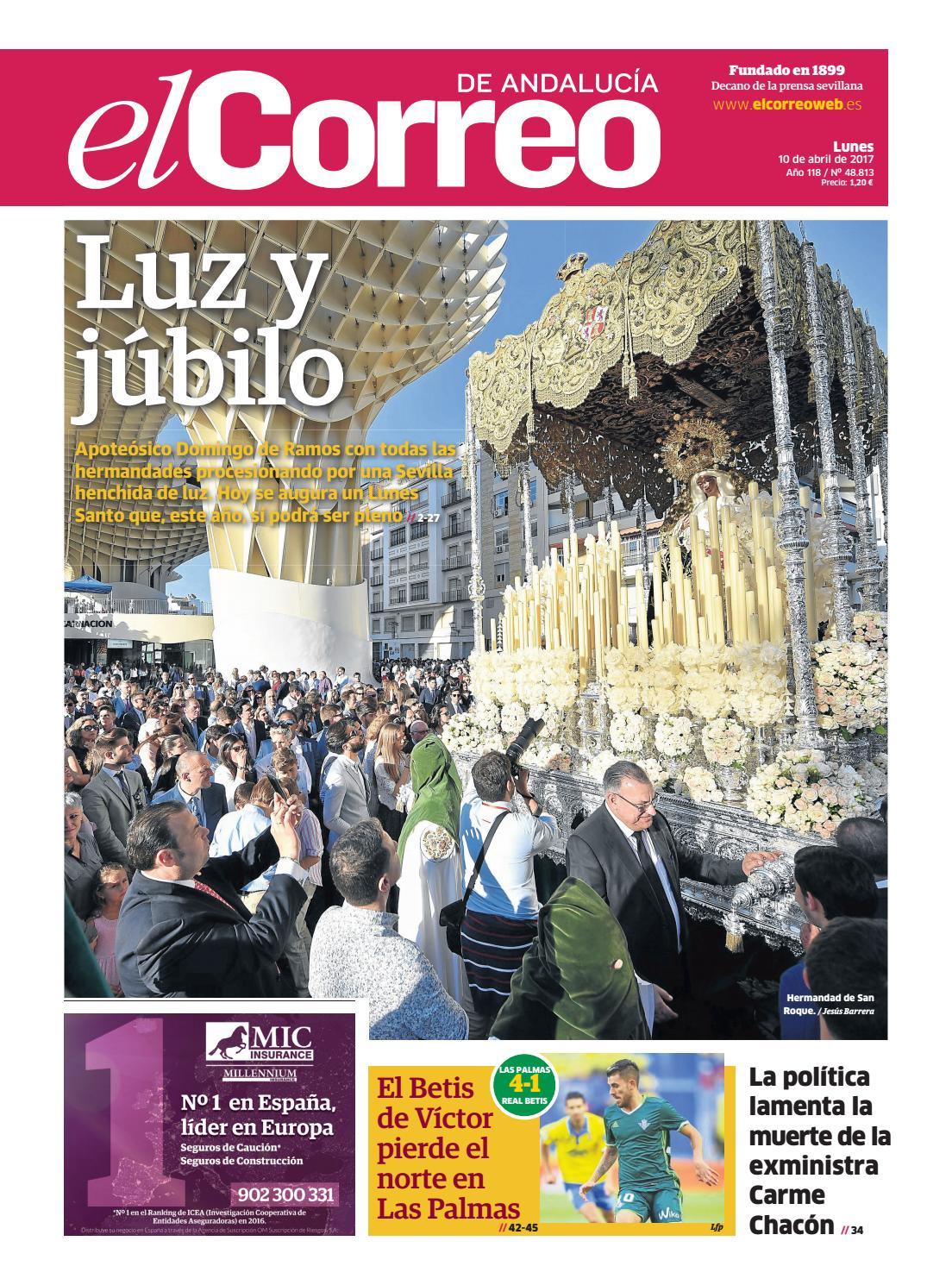 9295c97f093b2 10 04 2017 El Correo de Andalucía by EL CORREO DE ANDALUCÍA S.L. - issuu