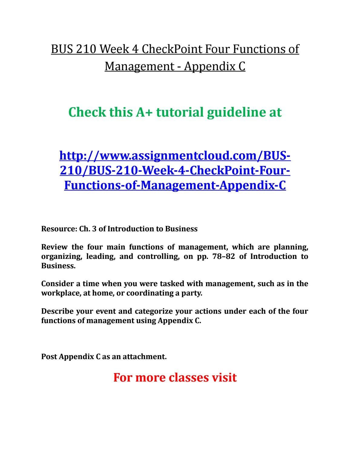 bus 210 appendix e essay example Essay examples bus 210 appendix c bus 210 appendix c or any similar topic only for you order now for an example.