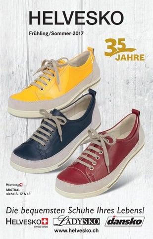 Helvesko Swiss Made Damen Schuhe echt Leder Rot We