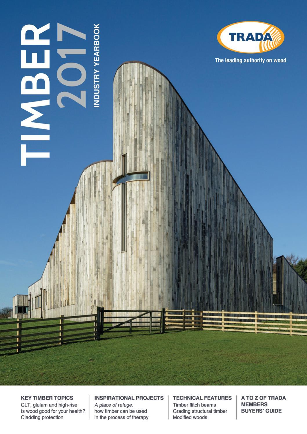 Timber 2017 (TRADA annual) by Exova BM TRADA - issuu