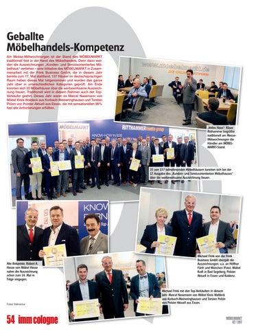 Moebelmarkt 02 2017 By Verlag Matthias Ritthammer Gmbh Issuu