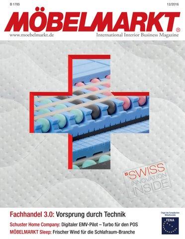 Moebelmarkt 12|2016 01 By Verlag Matthias Ritthammer GmbH   Issuu