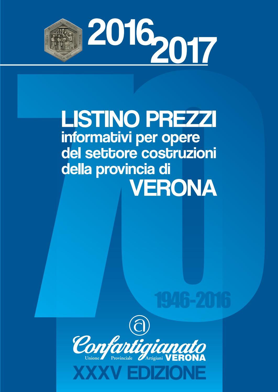 Prezzo Del Ferro Per Edilizia listino prezzi costruzioni verona 2016-2017 by
