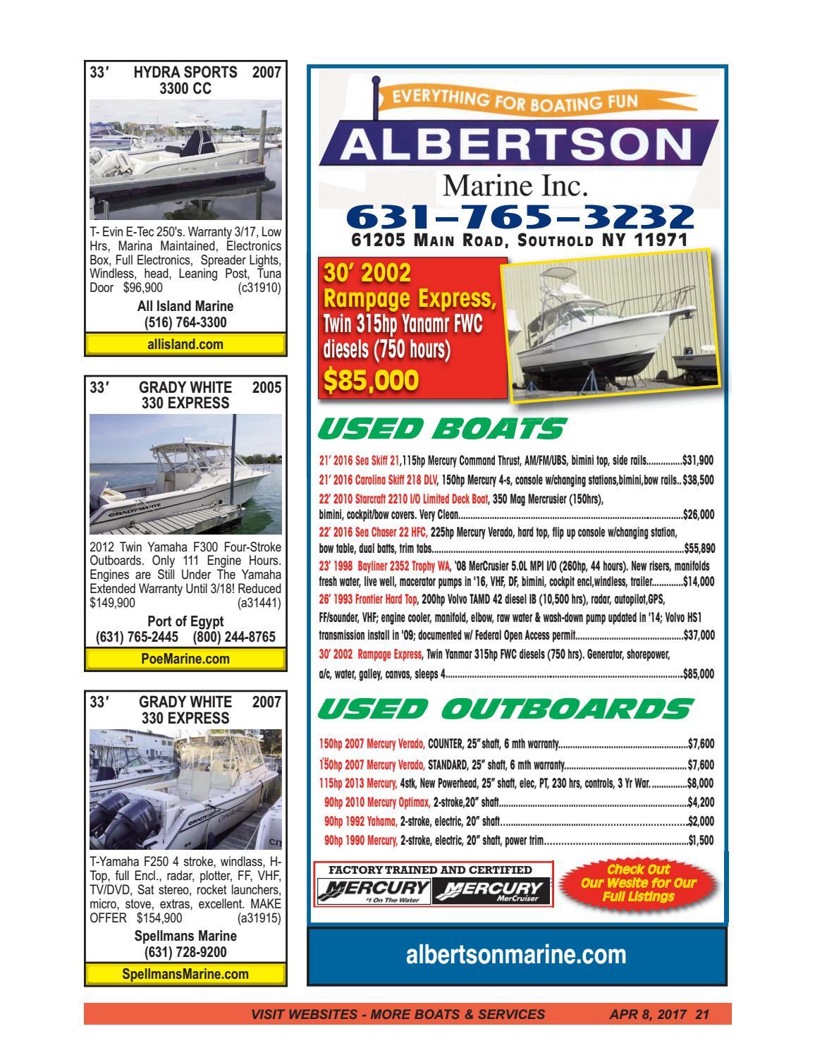 Boats 4 Sale Magazine April 8, 2017 by Boats4Sale com Media