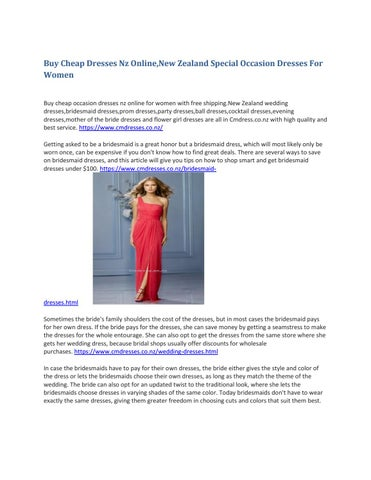 9099bee04a0d0 Buy cheap dresses nz online,new zealand special occasion dresses for ...