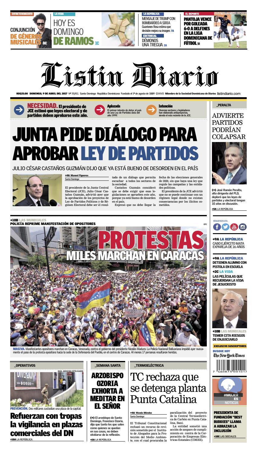 2017 04 09 by Listín Diario - issuu