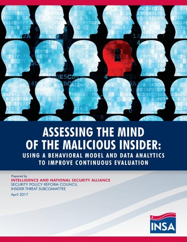 assessing the mind of the malicious insider