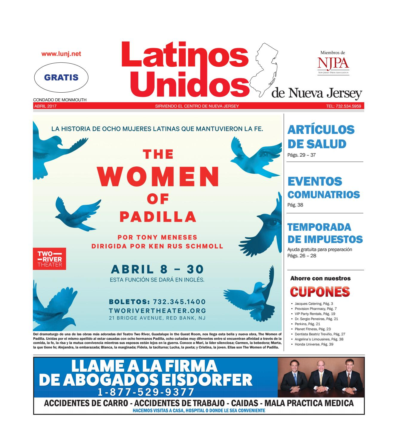 Monmouth Abril/April 2017 by Latinos Unidos de NJ - issuu