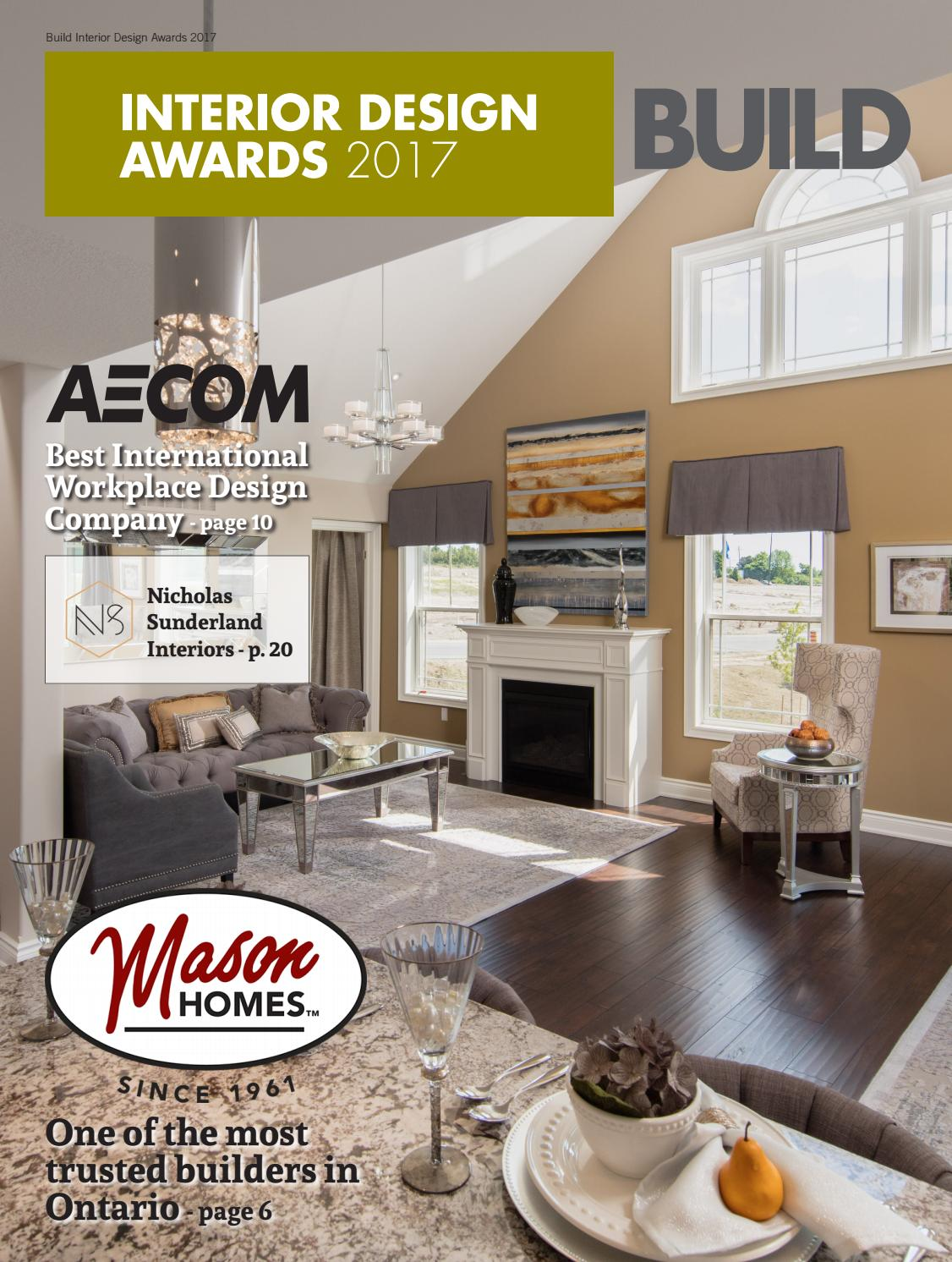 Build interior design awards 2017 by ai global media issuu