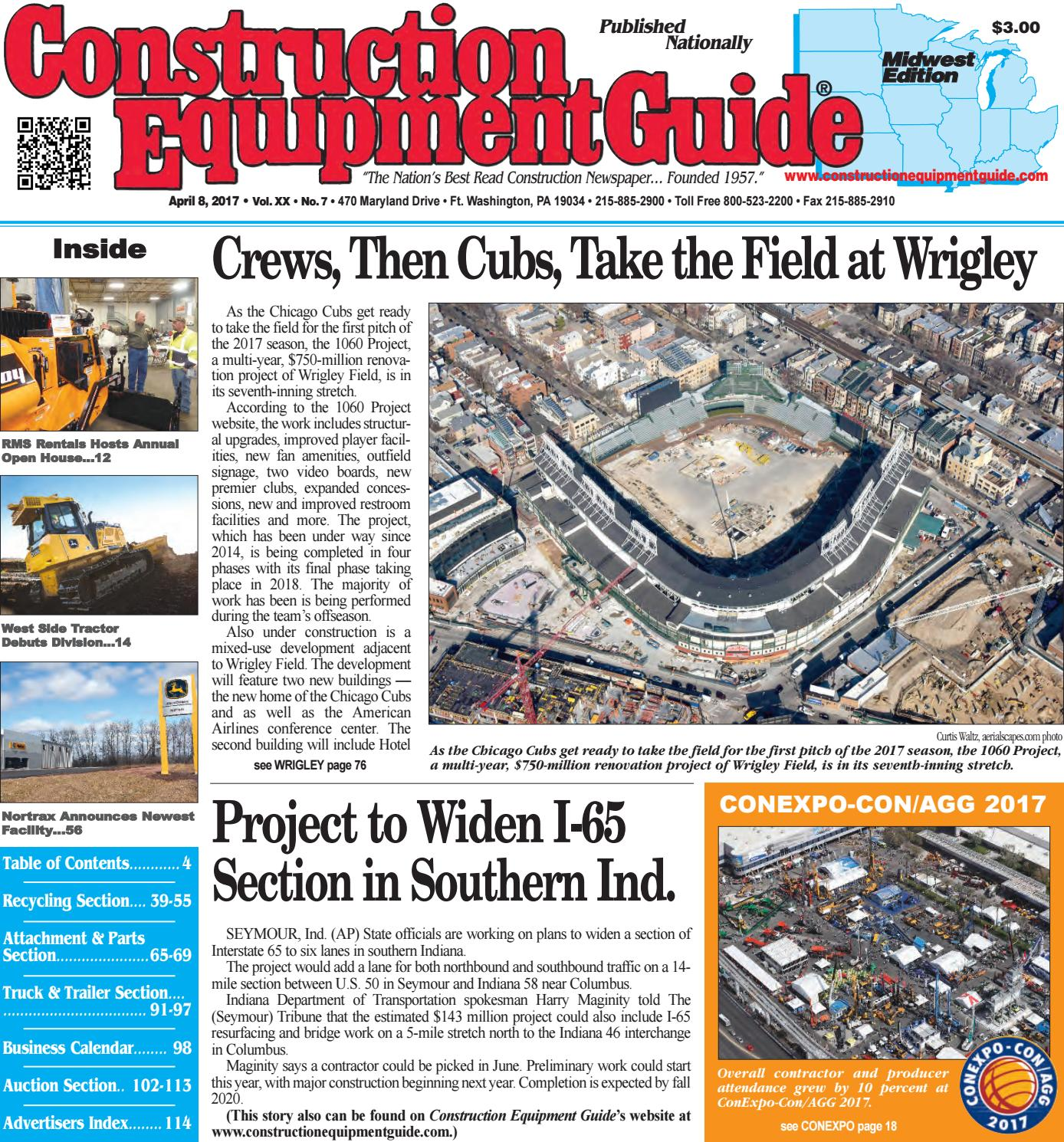 Midwest 7 April 10, 2017 by Construction Equipment Guide - issuu on