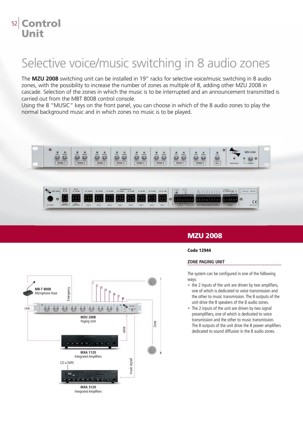 FBT AUDIO CONTRACTOR CATALOGUE 2017-2018 by FBT Elettronica