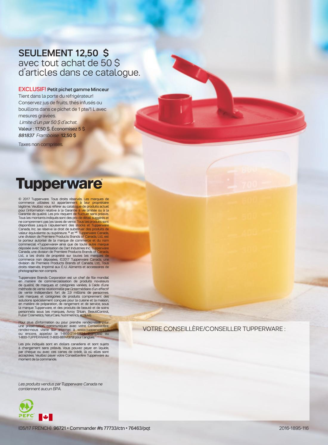 Catalogue Ete 2017 By Audrey Sills Tupperware