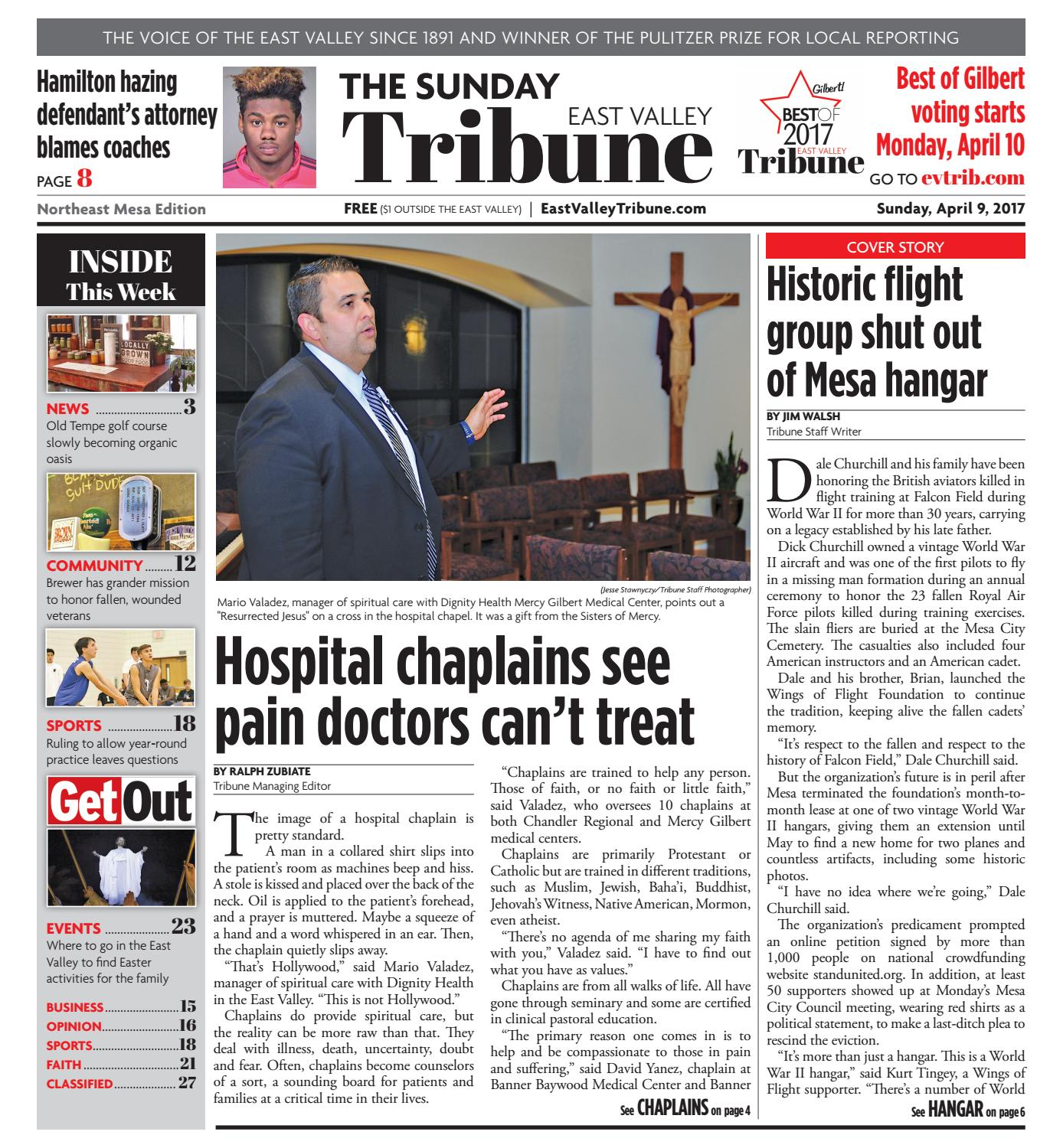 East Valley Tribune: Northeast Mesa Edition - April 9, 2017 by Times Media Group - issuu
