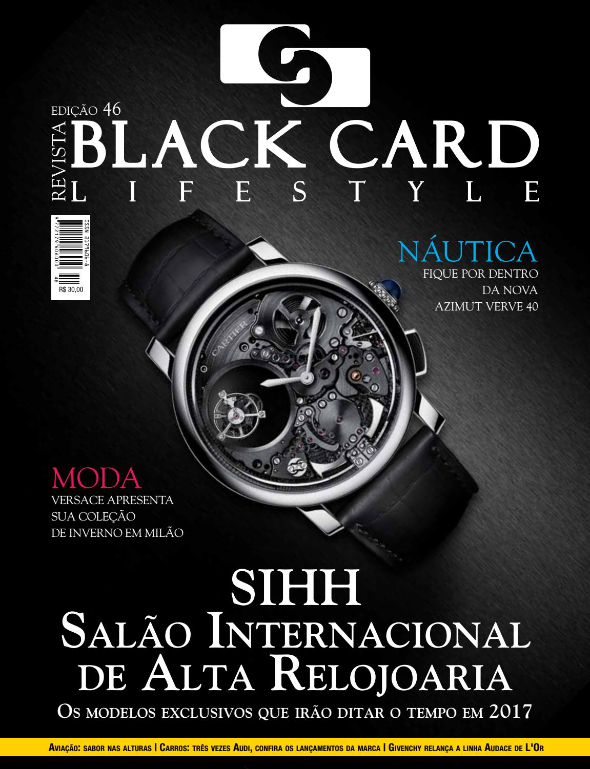 1078aaecb Revista Black Card Lifestyle - Edição 46 by Revista BlackCard Lifestyle -  issuu