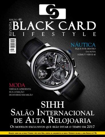 c03d9680f6abf Revista Black Card Lifestyle - Edição 46 by Revista BlackCard ...