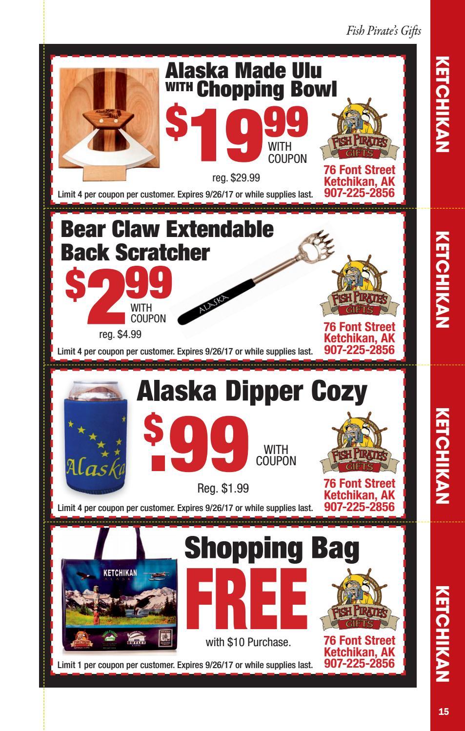 Alaska discount coupons