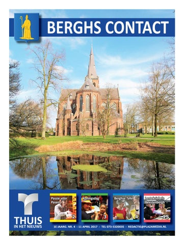 Berghs Contact 1704 11 4 2017 By Thuisinhetnieuws Issuu