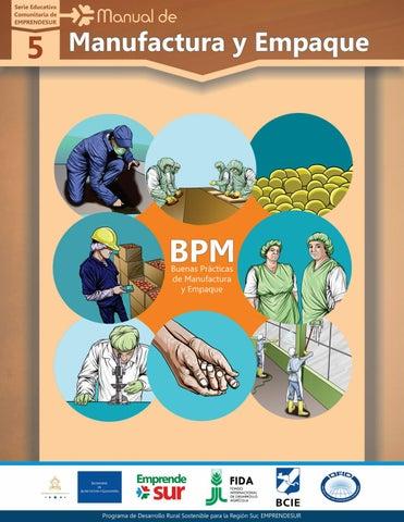 Buenas practicas de manufactura proyecto emprendesur by Manual de buenas practicas de manufactura pdf