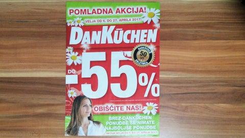 AKCIJA DanKuchen - april 2017 by DanKuchen Novo mesto - issuu | {Dan küchen logo 87}