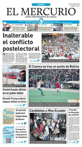 hemeroteca 07-04-2017 by Diario El Mercurio Cuenca - issuu f36dee4a8e1