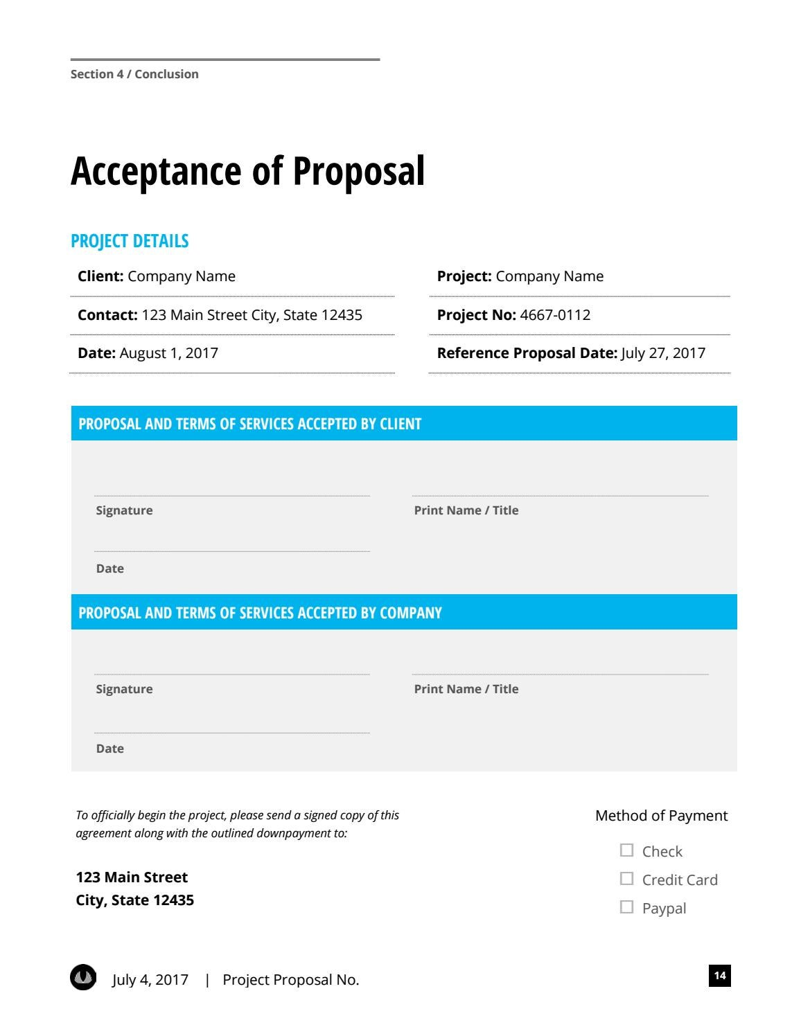 Microsoft Word Business Proposal Template W Resume Invoice By