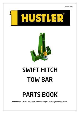 Swift Hitch Parts Breakdown Booklet By Hustler Equipment Issuu