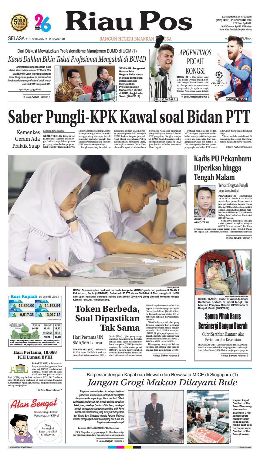 2017 04 11 By Riau Pos Issuu Jus Mangga Sabrina Casava Ui