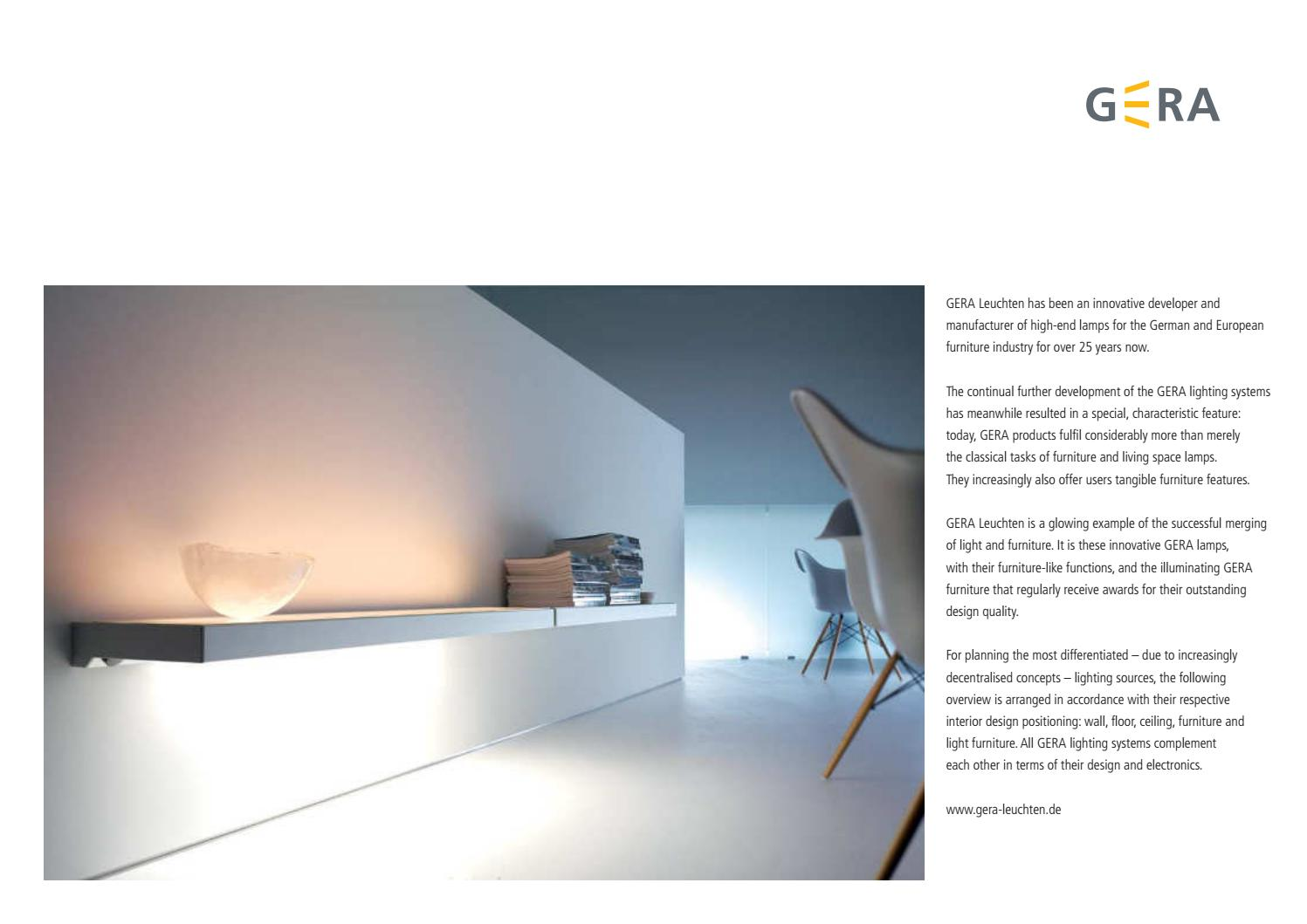 sc 1 st  Issuu & GERA lighting | German by Furniture Collection - issuu