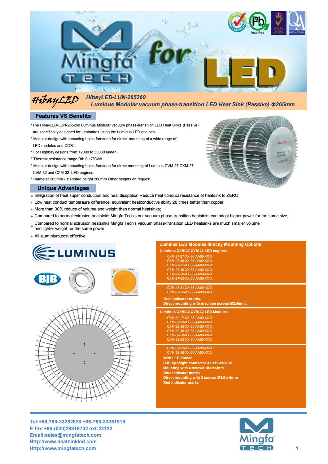 Hibayled lun 265260 luminus modular vacuum phase transition