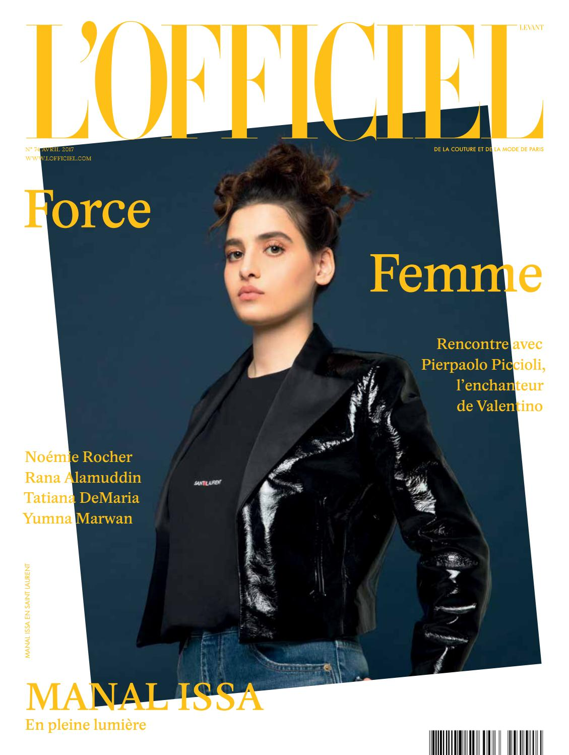 L Officiel-Levant, April Issue 74 by L Officiel Levant - issuu e8237442bc1