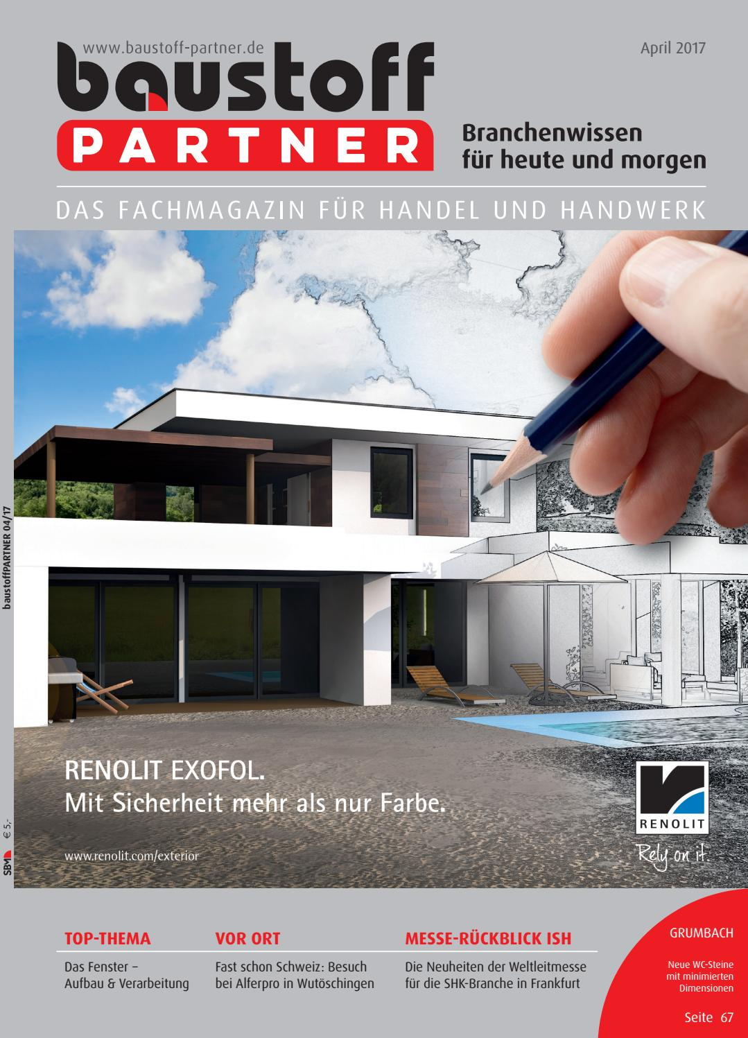 Toll BaustoffPARTNER April 2017 By SBM Verlag GmbH   Issuu