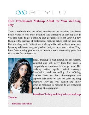 Wedding Hair and Makeup Toronto