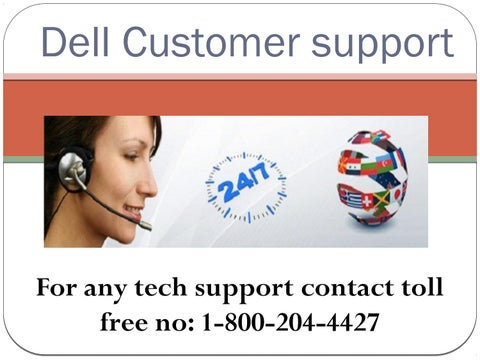 1 (800) 204-4427 Dell technical support phone number - issuu