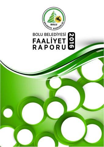 Bolu Belediyesi 2016 Faaliyet Raporu By Bolu Belediyesi Issuu
