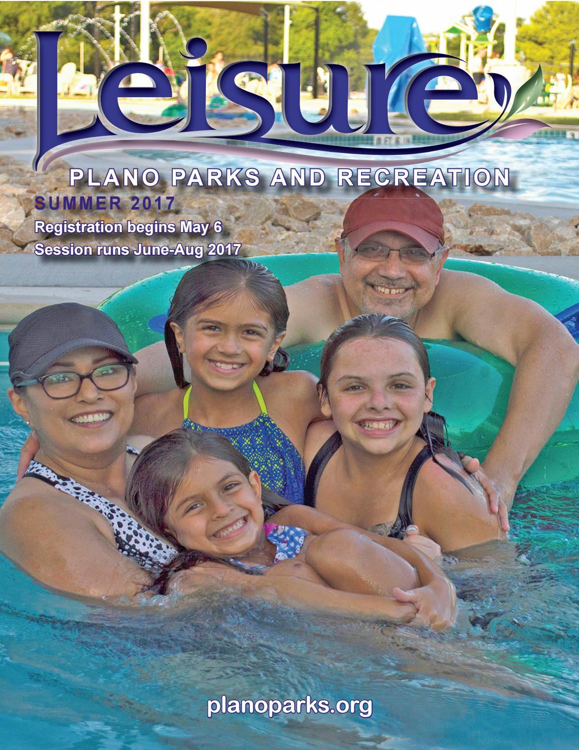 Plano Parks Recreation Summer 2017 Leisure Catalog By Kids Outdoor Fitness Circuit Free Printable This Fun Activity And Issuu